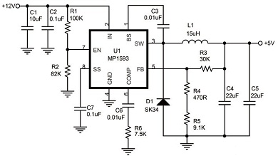 如何设计高效率大电流直流稳压电源图片